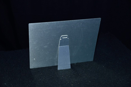 Metal With Easel Back-view