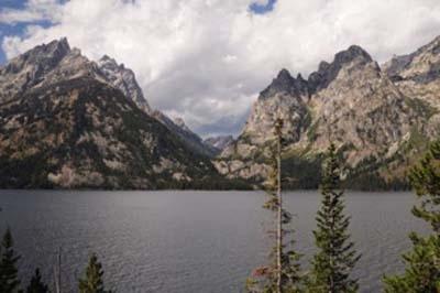 Lake Jenny Tetons